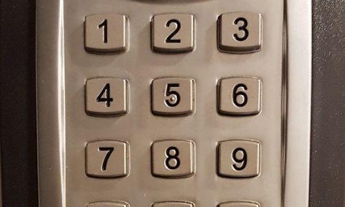 clavier à code rogne 2